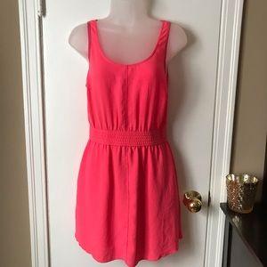 Wilfred Free Summer Dress Hot Pink Pockets